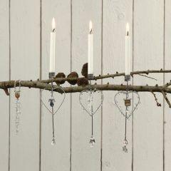 A Fashionable Christmas Tree Candle Holder