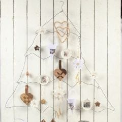 A Christmas Tree from Bonsai Wire