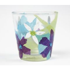 Tissue Paper on Glass