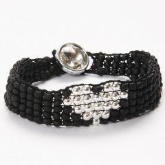 A Bead Bracelet made on a Bead Loom