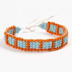 Jewellery School: A Bracelet woven on a Bead Loom
