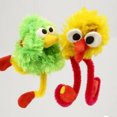 Animals made from Pipe Cleaners