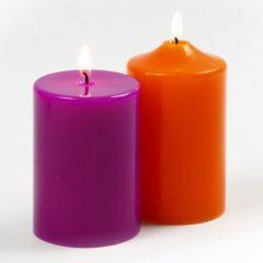 Pillar Candles made from Paraffin Wax