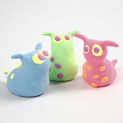 Imaginary Animals made from Silk Clay