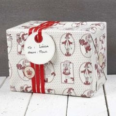 Gift Wrapping with Vivi Gade Design Paper (the Copenhagen Series)