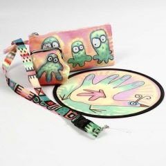 Textiles decorated with Fabric Markers and 3D Liner