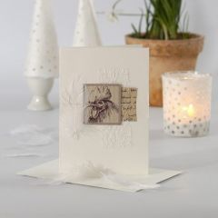 Easter Cards with sewn-on Decorations & Vivi Gade Design Paper
