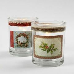Candle Holders with self-adhesive Stickers