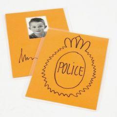 A fun pretend Police Badge