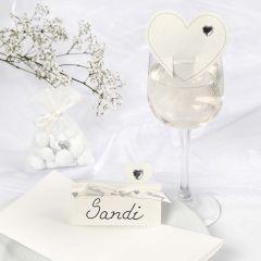 Romantic white Wedding Decorations