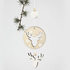 A Mobile from a 2-in-1 Hanging Decoration