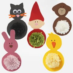 Foam Rubber Easter hanging Decorations
