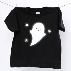 A T-Shirt with a reflective Ghost