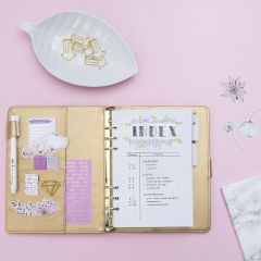 An Index Page for a Bullet journal and planner