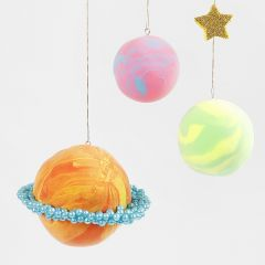 Silk Clay and Pearl Clay Planets