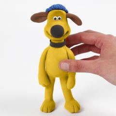 Bitzer from Shaun the Sheep modelled from Silk Clay and Foam Clay