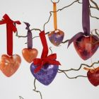 Lovely Christmas Hearts – easy to make