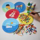 Cardboard Mosaics