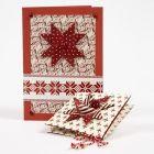 Christmas Cards made from Copenhagen Design Paper