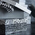 A Box covered with Paris Design Paper