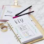 A Key Page for your Bullet Journal and Planner