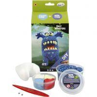 Funny Friends, monster, blue, 1 set