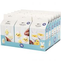 Easter Eggs, Friends and Family, 18 set/ 1 pack