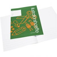 Exercise book with picture space , A4, size 21x29,7 cm, 32 , 25 pc/ 1 pack