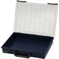 Storage Box, without Removable Insert Boxes, H: 8 cm, size 33,8x26,1 cm, 1 pc