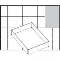 Insert Box, no. A71 Low, H: 24 mm, size 109x79 mm, 1 pc