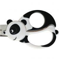 Kids Animal Scissors, panda, L: 13 cm, 1 pc
