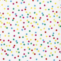 Gift wrap, Dots, W: 70 cm, 80 g, 2 m/ 1 roll