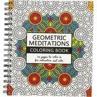 Mindfullness Colouring Book, geometric, size 19,5x23 cm, 64 , 1 pc