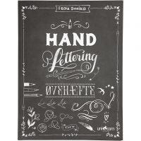 Hand Lettering - Exercises, size 21x28 cm, thickness 1 cm, 63 , 1 pc