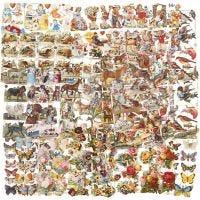Vintage Die-Cuts, all year, 16,5x23,5 cm, 30 sheet/ 1 pack