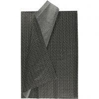 Tissue Paper, 50x70 cm, 17 g, black, 6 sheet/ 1 pack