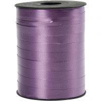 Curling Ribbon, W: 10 mm, glossy, purple, 250 m/ 1 roll