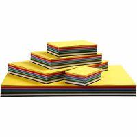 Creative Card, A3,A4,A5,A6, 180 g, assorted colours, 1500 ass sheets/ 1 pack