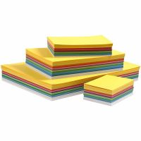 Happy Card, A3,A4,A5,A6, 180 g, assorted colours, 1500 ass sheets/ 1 pack