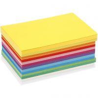 Happy Card, A6, 105x148 mm, 180 g, assorted colours, 300 ass sheets/ 1 pack