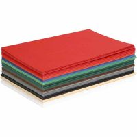 Christmas Card, A5, 148x210 mm, 180 g, assorted colours, 300 ass sheets/ 1 pack