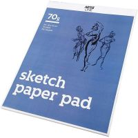 Drawing Paper Pad, A3, 297x420 mm, 70 g, white, 70 sheet/ 1 pack