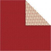 Design Paper, 30,5x30,5 cm, 120 g, 5 sheet/ 1 pack