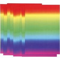 Rainbow Card, A4, 210x297 mm, 180 g, 10 sheet/ 1 pack