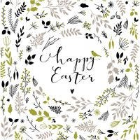 Table Napkins, Happy Easter, size 33x33 cm, 20 pc/ 1 pack