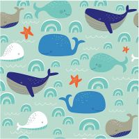 Table Napkins, glada valar, size 33x33 cm, 20 pc/ 1 pack