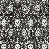 Table Napkins, Skulls, size 33x33 cm, 20 pc/ 1 pack
