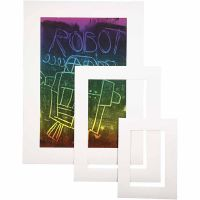 Picture Mount, A3,A4,A5, thickness 0,4 mm, 270 g, white, 75 pc/ 1 pack