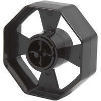 Tape Dispenser Wheel, W: 25 mm, D: 7,5 cm, 1 pc