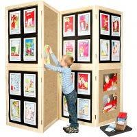 Wall Display Kit, H: 192 cm, W: 288 cm, 1 set
